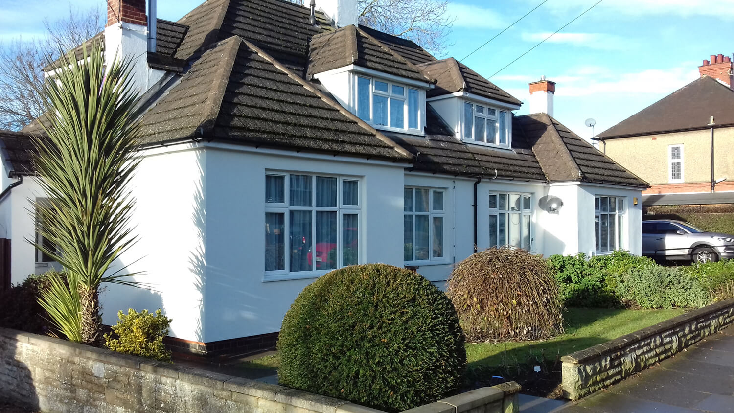 External Wall Insulation Services with a 25 year Guarantee