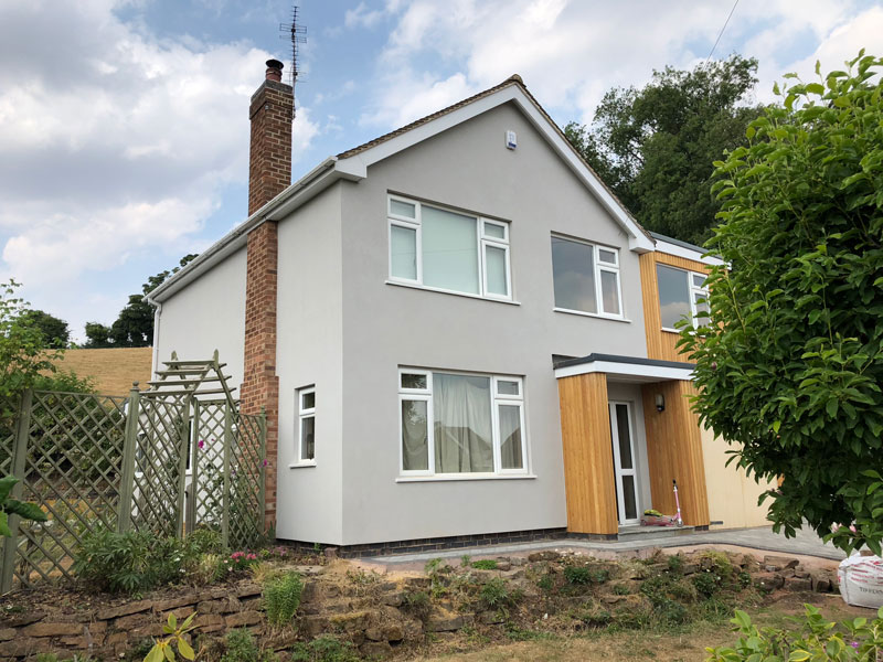 External Wall Insulation – Burton Joyce