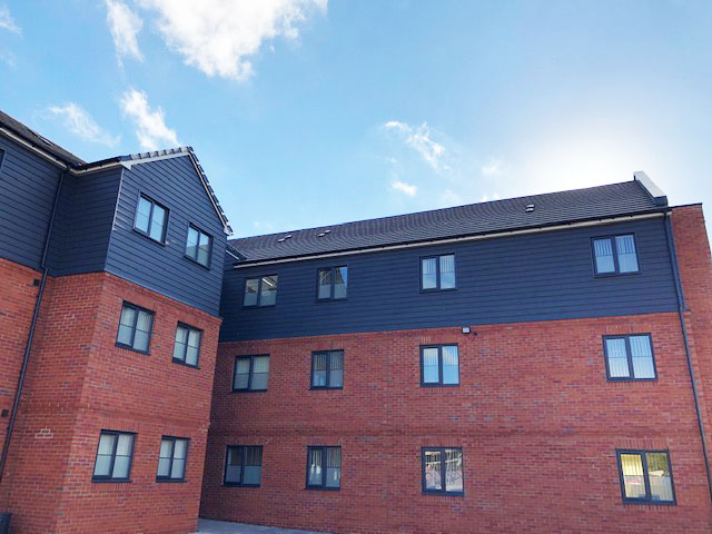 Cedar Cladding Flats – Shirebrook
