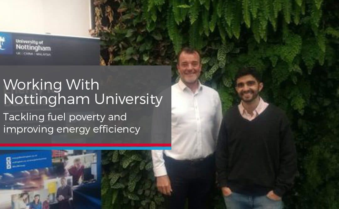 Westville & Nottingham University Work to Reduce Fuel Poverty
