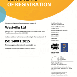 ISO 140001 Certification
